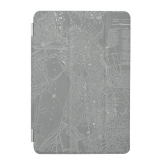 Sketch of Boston City Map iPad Mini Cover