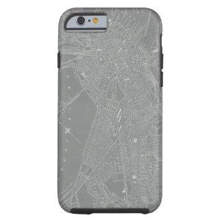 Sketch of Boston City Map Tough iPhone 6 Case