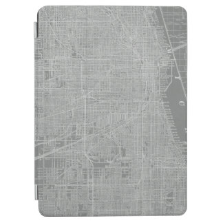 Sketch of Chicago City Map iPad Air Cover