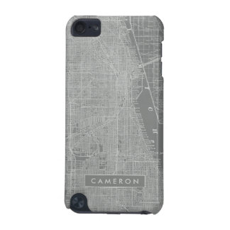 Sketch of Chicago City Map iPod Touch (5th Generation) Cover