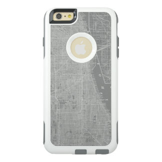 Sketch of Chicago City Map OtterBox iPhone 6/6s Plus Case