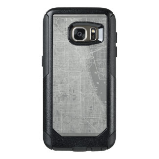 Sketch of Chicago City Map OtterBox Samsung Galaxy S7 Case
