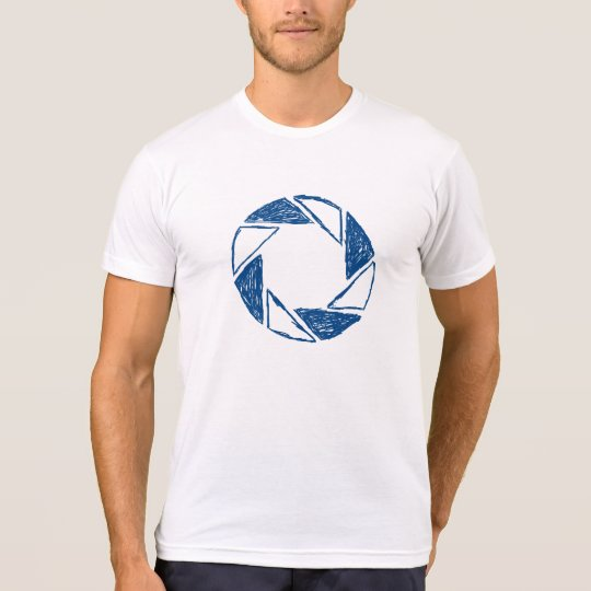 Sketch of Lens Aperture T-Shirt