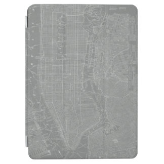 Sketch of New York City Map iPad Air Cover