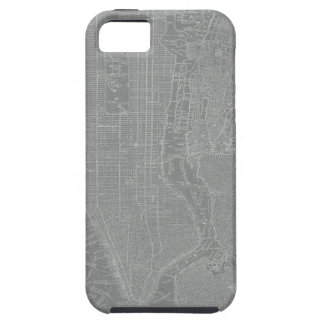 Sketch of New York City Map iPhone 5 Cover