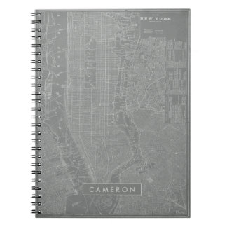 Sketch of New York City Map Notebook