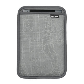 Sketch of New York City Map Sleeve For iPad Mini