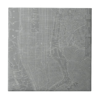 Sketch of New York City Map Tiles