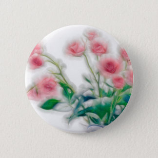 Sketch of Rose Bouquet 2 Inch Round Button