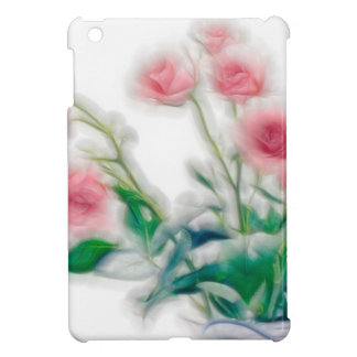 Sketch of Rose Bouquet Case For The iPad Mini