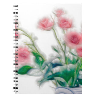 Sketch of Rose Bouquet Notebook