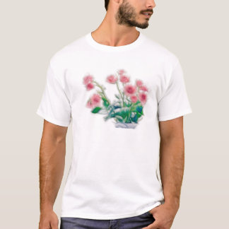 Sketch of Rose Bouquet T-Shirt
