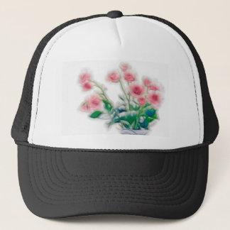 Sketch of Rose Bouquet Trucker Hat