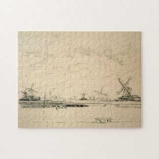 Sketch of Windmills Puzzle