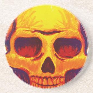 Sketch Skull Coaster