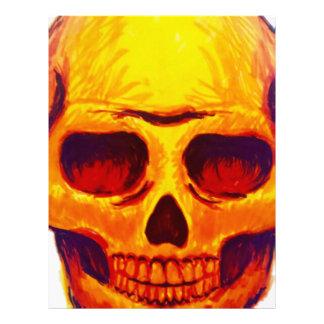 Sketch Skull Letterhead