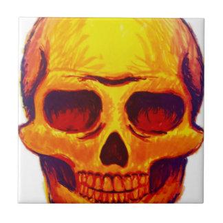 Sketch Skull Tile