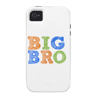 Sketch Style Big Bro Case-Mate iPhone 4 Cover