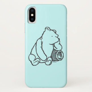 Sketch Winnie the Pooh 2 iPhone X Case