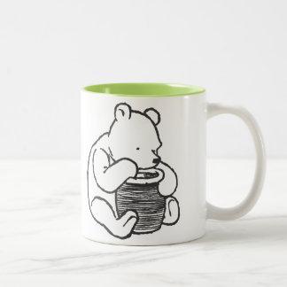 Sketch Winnie the Pooh 3 Coffee Mug