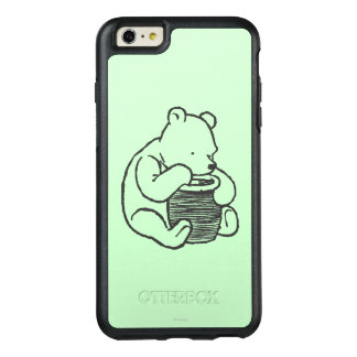 Sketch Winnie the Pooh 3 OtterBox iPhone 6/6s Plus Case