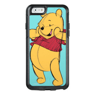 Sketch Winnie the Pooh OtterBox iPhone 6/6s Case