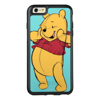 Sketch Winnie the Pooh OtterBox iPhone 6/6s Plus Case