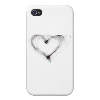 Sketched Love iPhone Case iPhone 4/4S Cover