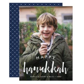 Sketched Overlay | Hanukkah Photo Card