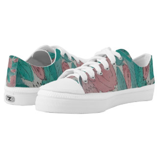 sketchy abstract contempory art original design Low-Top sneakers