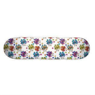 Sketchy Butterflies & Dots Skate Decks