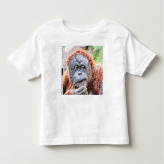 sketchy orang toddler t-shirt