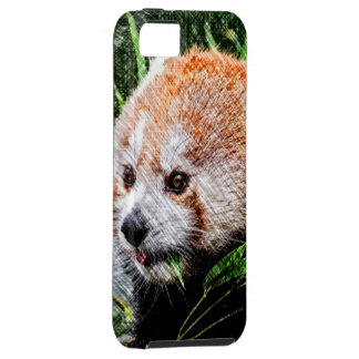 sketchy red panda iPhone 5 cases