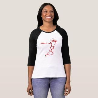 Sketchy Style Softball Batter T-Shirt