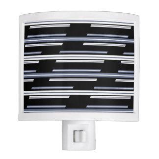 Skewed Stripes Pattern Design Nite Lite