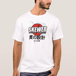 Skewer Manga White T-Shirt