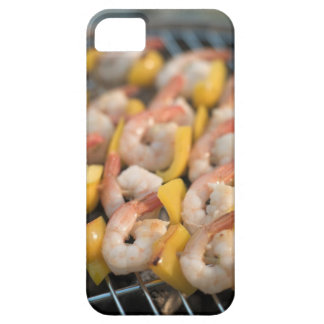 Skewer with grilled shrimps and pepper Sweden. Case For The iPhone 5