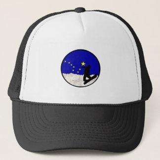 Ski Alaska Trucker Hat