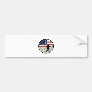 Ski America Bumper Sticker