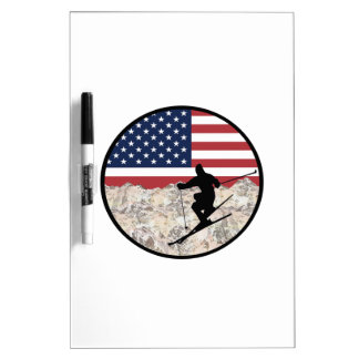 Ski America Dry Erase Board