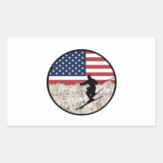 Ski America Sticker
