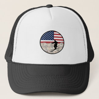 Ski America Trucker Hat