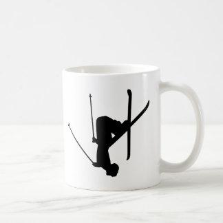 Ski Basic White Mug