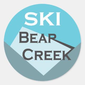 Ski Bear Creek Sticker