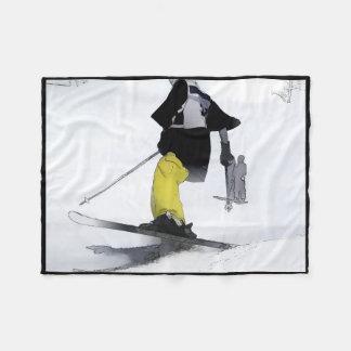 Ski Champ Finish Fleece Blanket