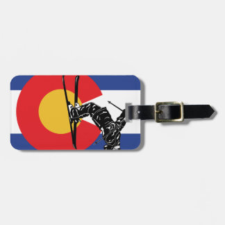 Ski Colorado Luggage Tag