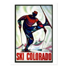 Ski Colorado Postcard