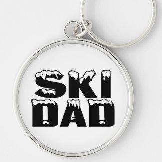 Ski Dad Keychain