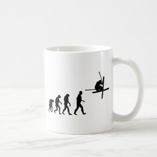 ski evolution icon mug