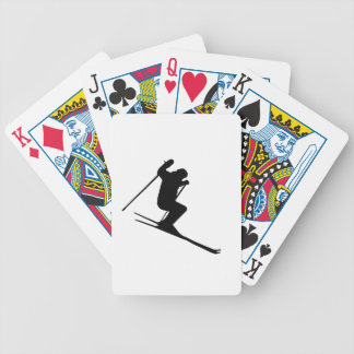 Ski Gear Bicycle Playing Cards